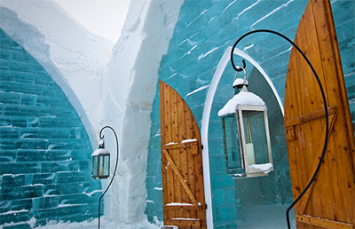 Ice Hotel, Quebec City, Quebec